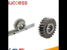 Shanghai Machinery High Precision Small Rack And Pinion Gears,Spur Gear Racks,Helical Gear Rack