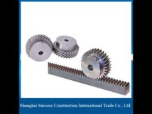 Small Module Brass Material Gear