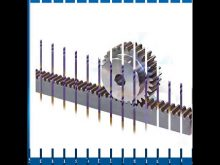Small Pinion Gear And Gear Racks