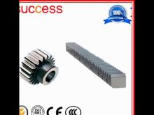 Small Rack And Pinion Gears / Cnc High Precision Rack And Pinion