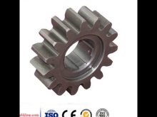 Spur Gear Rack With Mounting Holes