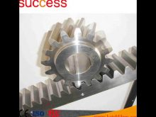Steel Spur Gear Shaft