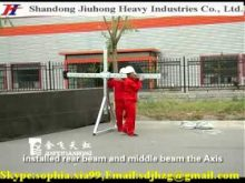 Suspended Platform ,Electric Scaffold,Hanging Scaffold,Rope Suspended Platform Installation Video