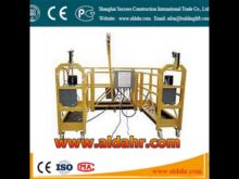 suspended platform manual