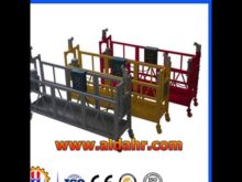 Suspended Platform Moveable gondola boat with International Standard