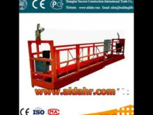 suspended platform parking system
