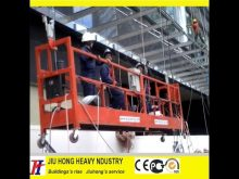 Suspended platform Parts,Rope suspended platform,electrical scaffolding,window cleaning gondola,