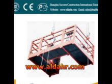 suspended platform rental in chennai