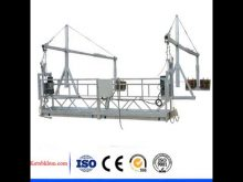 Suspended Platform With Electric Hoist