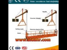 Suspended Platform/Cradle With MC Wheels