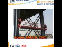 Suspended Platform/Cradle/Gondola for external wall