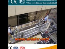 Suspended platform/Swing stage/Scaffold work