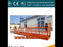 suspended platform/zlp 630 construction hoist