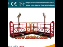suspended scaffold platform