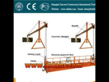 suspended work platform rental