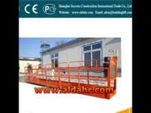 suspended working platform price