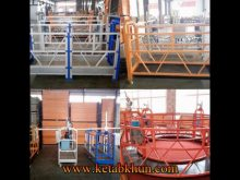 Suspended Working Platform Zlp 630 Chinese Factory