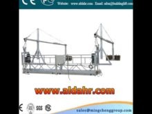 temporary suspended platform CE proved