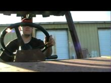 video of me operating the backhoe