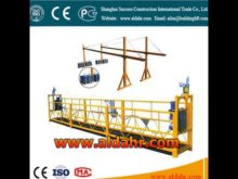 window cleaning extending 415V voltage hoist suspended platform Factory