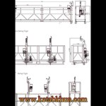 Zlp 630 Suspended Metal Scaffolding Platform