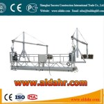 ZLP 800 auto Suspended Platform 6m window cleaning platform 630kg loading construction cradles