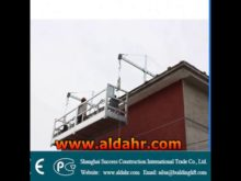ZLP 800 Steel construction Electric Suspended Platform