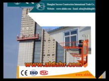 ZLP elctric building Suspended Platform Gondola Swing Stage