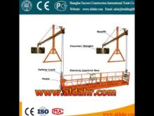 zlp electric 800kg hoist construction equipment suspended platform