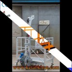 Zlp Height Work Adjustable Rope Suspended Platform