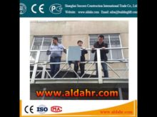 ZLP portable material handling equipment/ suspended platformCE