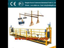 ZLP rope suspended platform electric suspended work platform