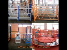 Zlp Rope Suspended Scaffolding Platform With Caster