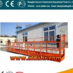 ZLP suspended platform folding cradle