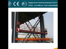 ZLP Suspended Scaffolding Platform/Electric Powered Access Equipment/Suspended Platform