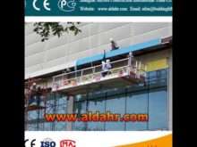 ZLP suspension mechanism for suspended platform/cradle/gondola