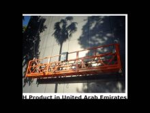 ZLP630 800 Suspended Platform,Window Cleaning construction machinery,Gondola,swing stage