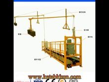 Zlp800 Hoist Electric Lift Suspended Platform