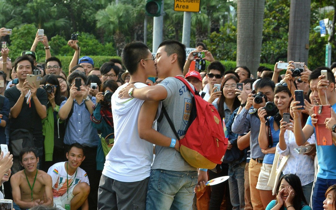 80,000 Attend Taiwan's Gay Pride Parade