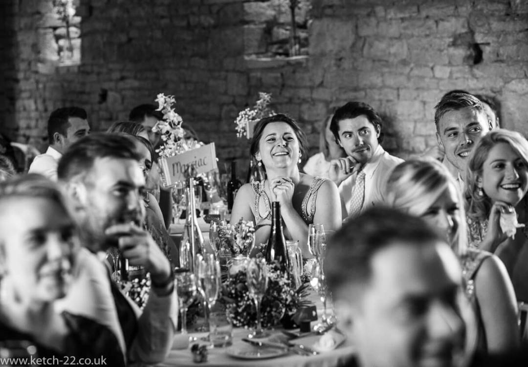 Speeches at Weddings at The Great Tythe Barn