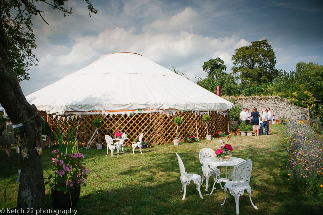 Wedding Yurt in Herefordshire