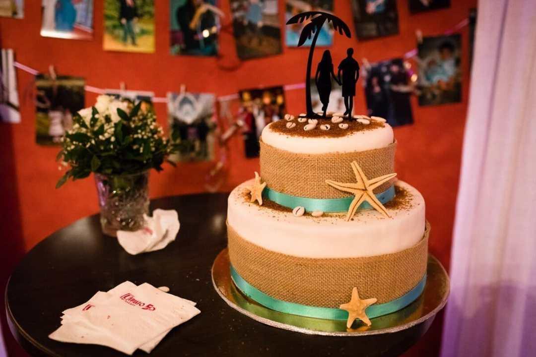Wedding cake at Spanish Wedding