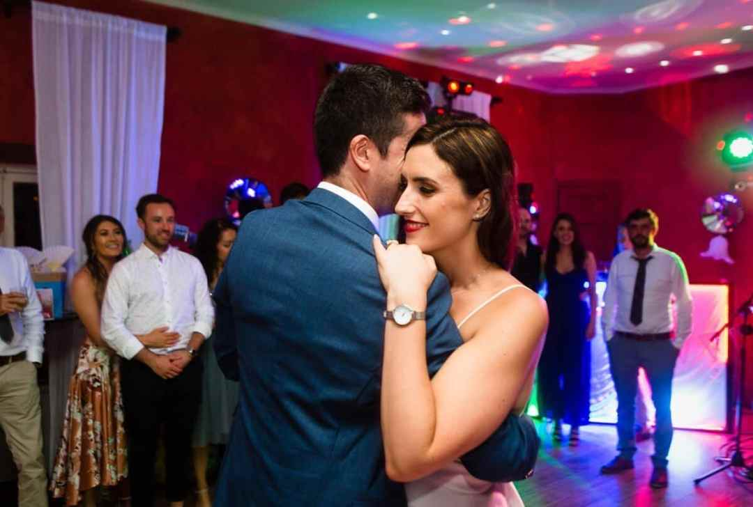 First dance at Wedding in Malaga Spain