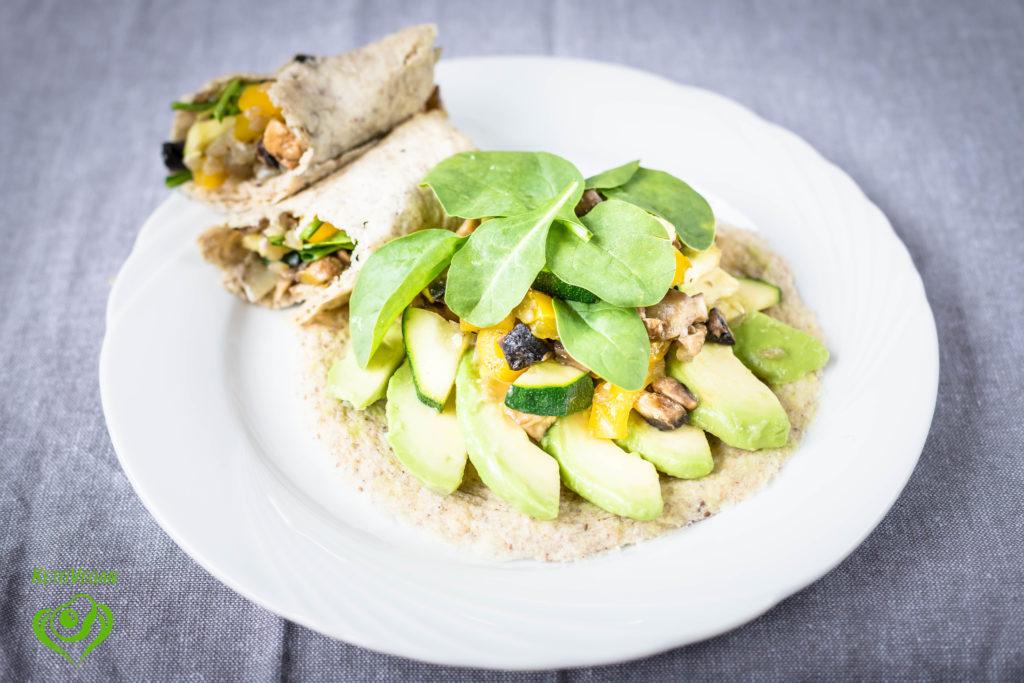 Keto-Vegan Breakfast Burritos | keto-vegan.com