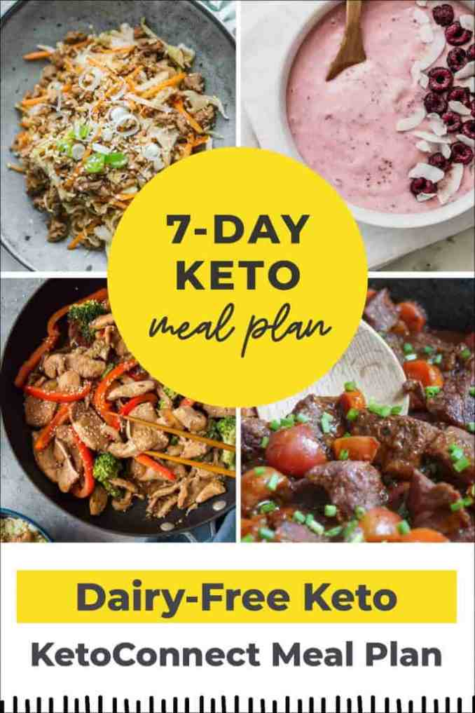 Dairy free meal plan featured image