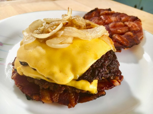 Bacon Smash Burger