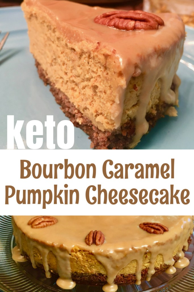 keto pumpkin cheesecake pin