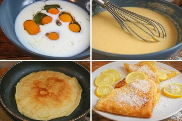 easy to make crepe recipe