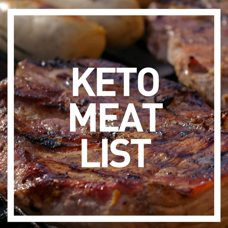 keto meat list - photo of steak and italian sausage on grill