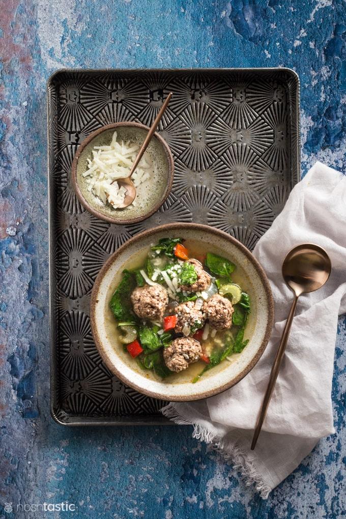 Low Carb Italian Wedding Soup
